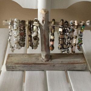 NEW Jewelry Stand ONLY Driftwood